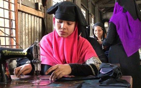 Rohingya refugee women stitch new lives in Bangladesh