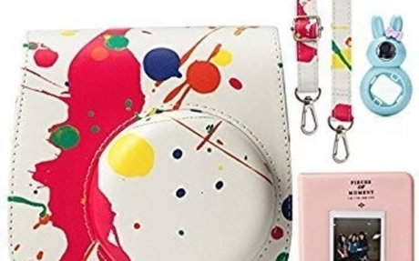 Amazon.com : CAIUL 7 in 1 Instax Mini 8 8+ 9 Camera Accessories Set (Colorful Painting Ins