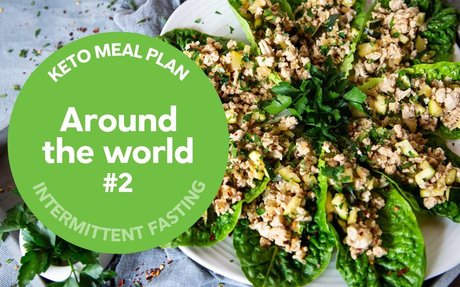 Keto meal plan: Around the world (16:8) #2 — Diet Doctor