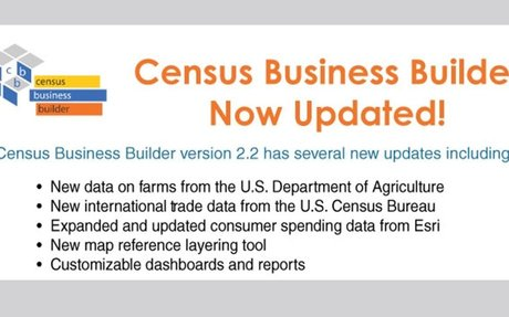 U.S. Census Bureau Updates its Business Builder Tool, Here's What's Inside