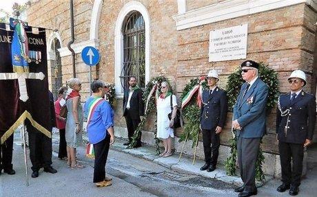 A Ancona 74/o anniversario Liberazione - Marche