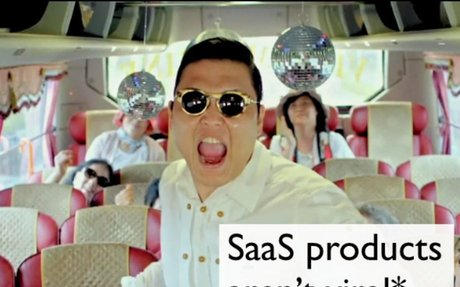 SaaS products aren't viral (preso)