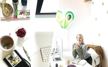 What successful boss babes keep at their desks to boost productivity