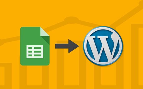 Create Graphs in Google Sheets and Insert in WordPress Website