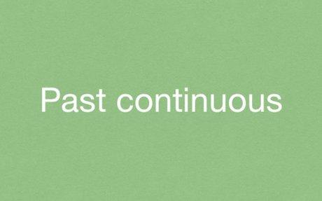 Grammar Exercises - The Past Continuous (Past Progressive)
