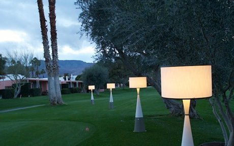 Live Anywhere Inc. -  Wireless Luxury Outdoor Table & Floor Lamps