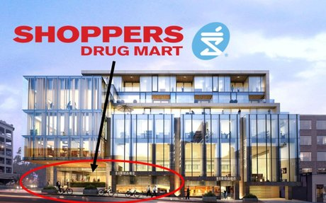 Shoppers Drug Mart Opens at the Base of Luxury Rosedale Building [Photos]