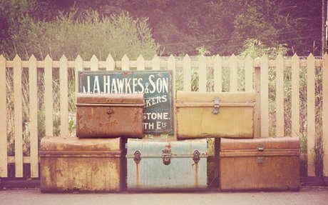 Photograph of Suitcases