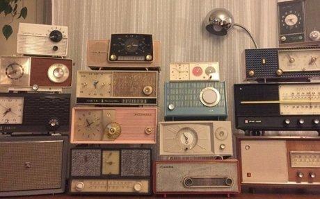 Photograph of Vintage Radios