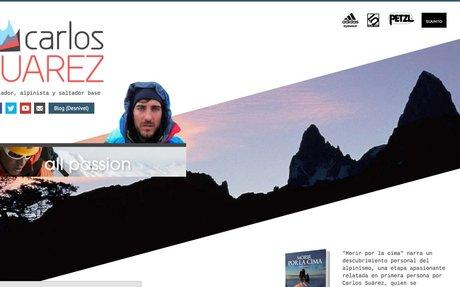 Carlos Suarez • Escalador, alpinista y saltador base