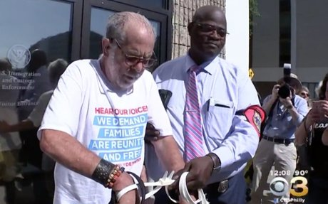 'Old Farts' arrested while protesting outside ICE office in Philadelphia