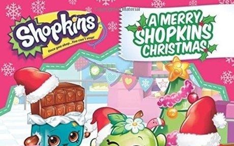 A Merry Shopkins Christmas Activity Book