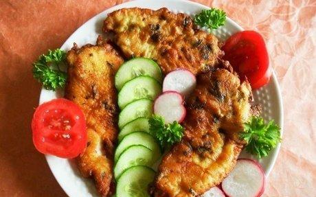 Mura menti csirkemell (fokhagymás-tejfölös panírban) recept Salamon Csilla konyhájából - R