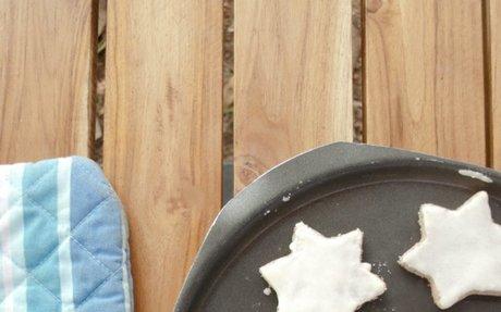 German Cinnamon Star Cookies