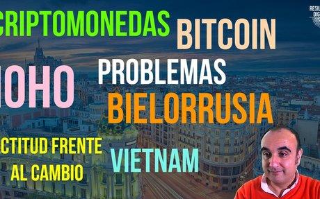 Energía y Bitcoin, Obsolescencia Humana, Bielorrusia y Vietnam - Resiliente Digital