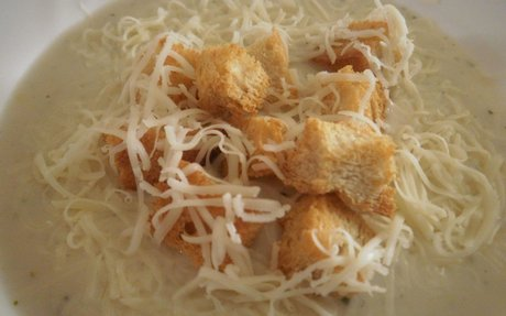 Fokhagymakrémleves recept Boribonka konyhájából - Receptneked.hu