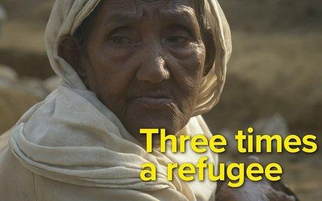 Three times a refugee - 90 year old Rohingya Gul Hazar's story