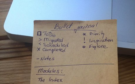 Bullet Journal— «серебряная пуля» длятайм-менеджмента