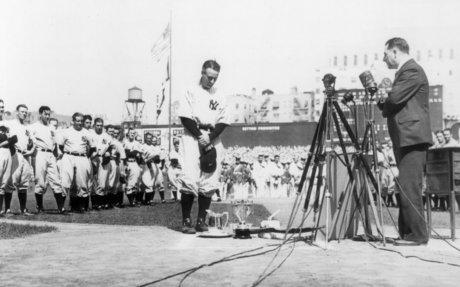 8. Lou Gehrig's Speech