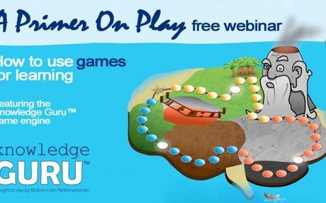 How to Start Designing Game Based Learning (Free Webinar)