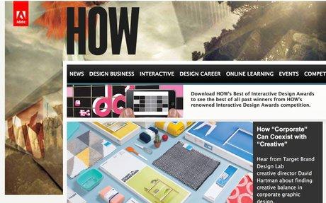 Graphic Design Inspiration, Blogs, Business & Career Advice   HOW