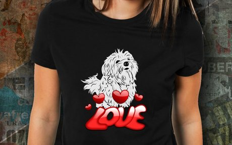 Maltese Dog Lovers Tee To Show Your Love