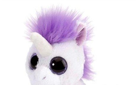 Lavender Stuffed Unicorn