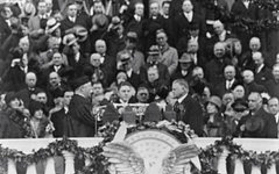 inauguration of Herbert hoover