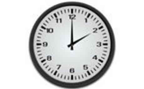 El reloj y las horas: en punto - media - cuarto. Ejercicios de vocabulario ele