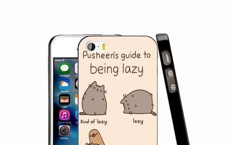 14357 Pusheen cat, cell phone Case for iPhone