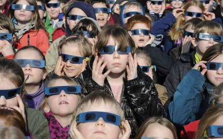 6)What are the dangers of looking at a solar eclipse?