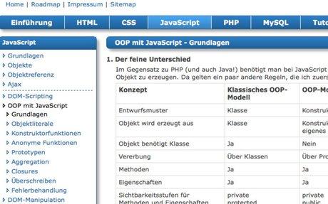 JavaScript - OOP mit JavaScript - Grundlagen