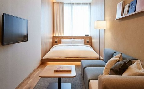 Brand Highlights // Muji's new hotel is the greatest ad for Muji yet