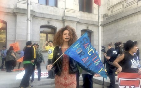Philly activists celebrated May Day with a 'death by incarceration' protest - Generocity P