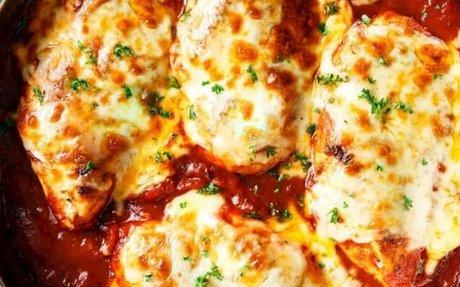 Instant Pot Lazy Marinara Chicken Recipe | Yummly