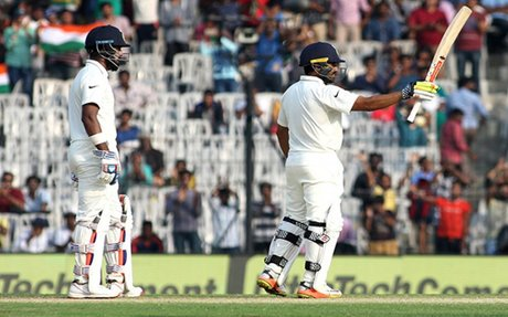Chennai Test: India gets the highest ever Test score of 759; Karun Nair gets a triple ton