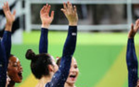 U.S. Women Jump, Spin and Soar to Gymnastics Gold