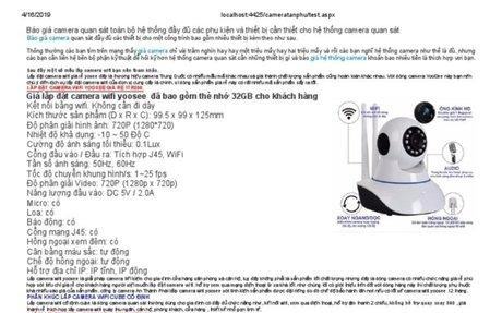 Lắp camera quan sát giá rẻ dịch vụ tốt