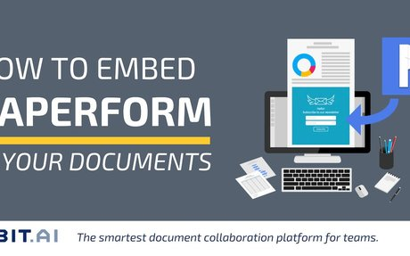 How to Embed Paperform into Your Documents - Bit Blog