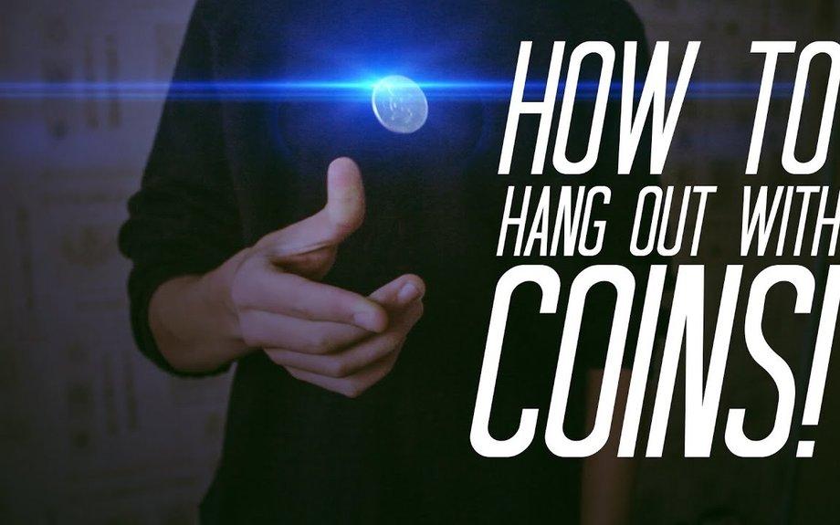 Learn Coin Magic : HANG COINS IN MID-AIR! - Coin magic TUTORIAL