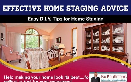 Awesome Home Staging Advice - From Home Place To Show Place