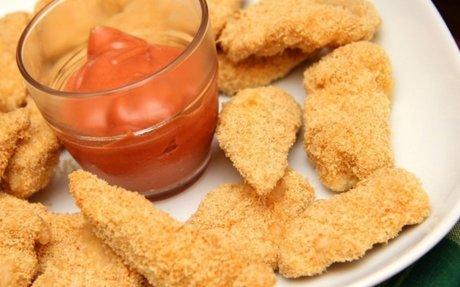 Parmezános csirke nuggets recept