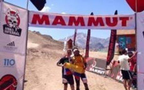 Los ecuatorianos Egloff y Miranda ganaron el Andes Infernal 51K en Chile