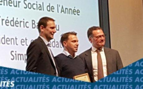 Frédéric Bardeau, fondateur de Simplon.co, entrepreneur social de l'année 2017