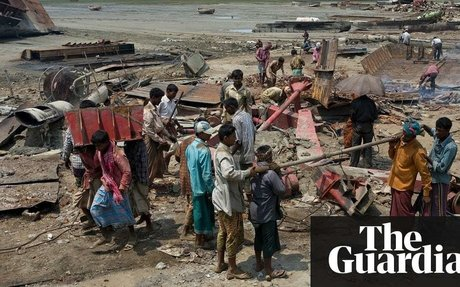 'This is the world's cheapest place to scrap ships' – but in Chittagong, it's people who p
