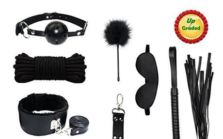PALOQUETH Bondage Set Perfekt für Anfänger BDSM Fesselset Sexspielzeug 10 Stück