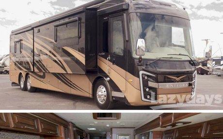Entegra Aspire Luxury Coach | Crown Club RVs | Lazydays