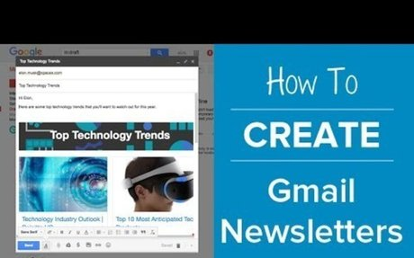 How To Create an Email Newsletter in Gmail No html No Coding | elink.io