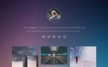TEMPLATED - CSS, HTML5 and Responsive Site Templates