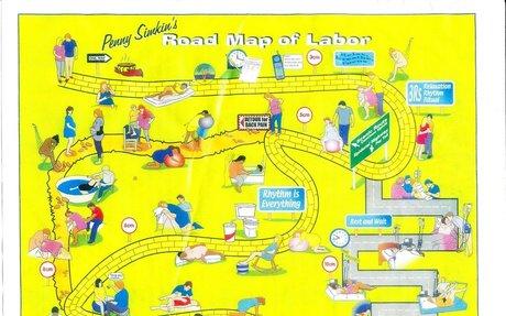 Szülési térkép - maga a kép